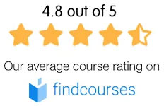 4.8 out of 5 on Findcourses
